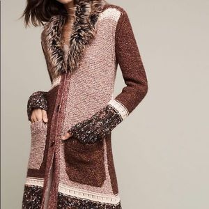 Anthropologie Mother of the North Duster Cardigan